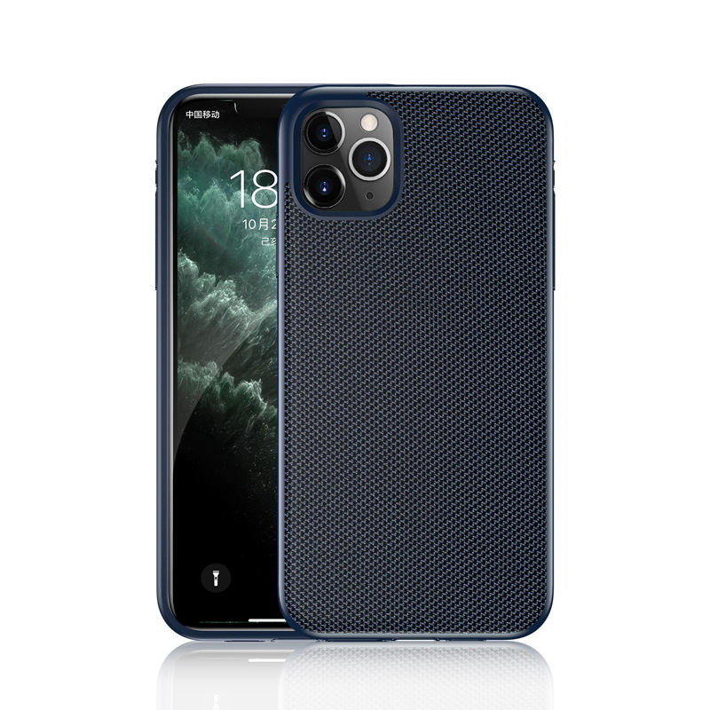 Unik Nilon Ponsel Case untuk Apple iPhone Case Nilon Balistik Shockproof Mobile Phone Cover Case untuk iPhone 2019