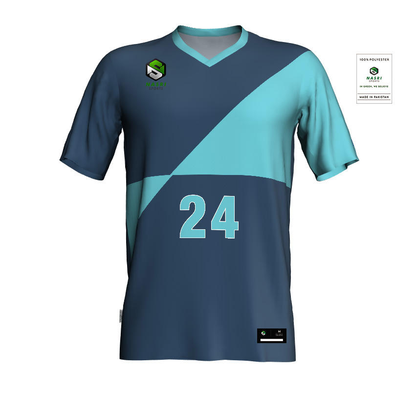 Digital printed unisex volleyball jersey for professionals OEM customized volleyball jersey