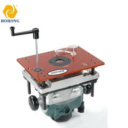 Router lift woodworking router table Euro type