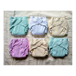 Customized 100% Organic Cotton Baby Cloth Diaper