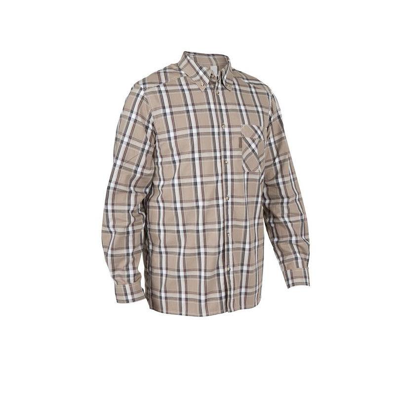 Custom wholesale causal design cotton plaid flannel mens shirts