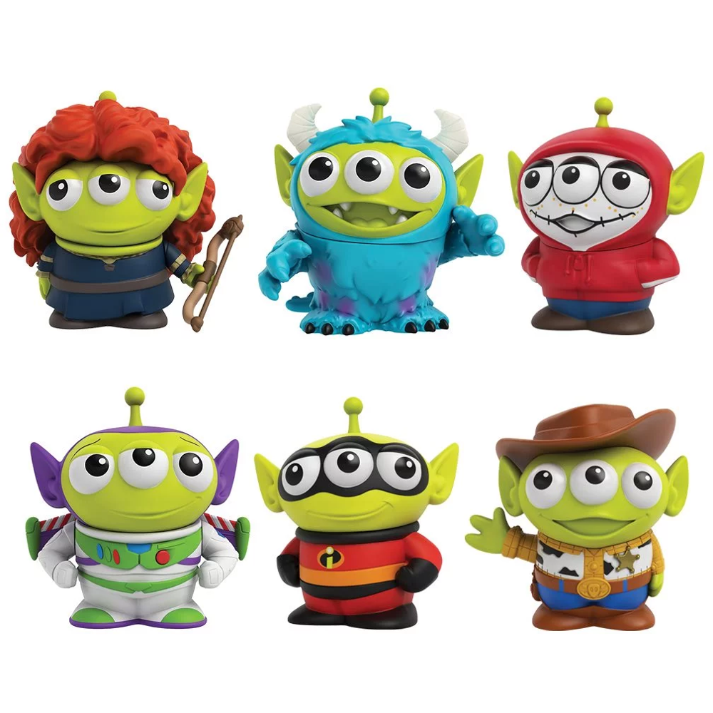 Mini Action Figure Toy Story 4 Cartoon Character Figure Alien Remix 3-Inch Set Models Toys