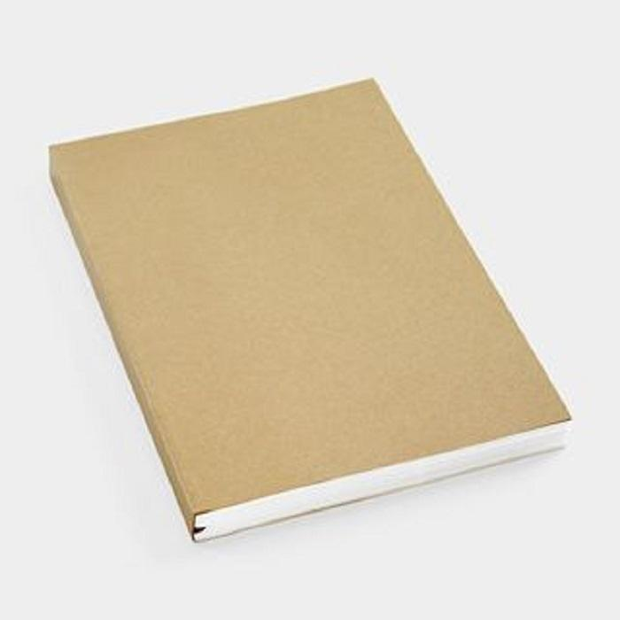 Kraft Soft Cover Writing Books School Custom Logo School Writing Blank Notebook Supplies