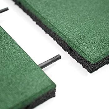Rubber mats interlocking for outdoor playground with EN1177 fall height rate - cheap price from Vietnam factory