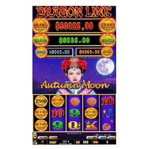 games 2020 Dragon LINK Autumn Moon vertical monitor aristocrat game SLOT GAME BOARD