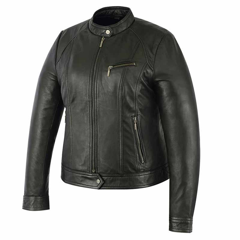 In All Colors Zipper PVC Leather Jackets For Men's Best Quality Wholesale Leather Jackets For Women's