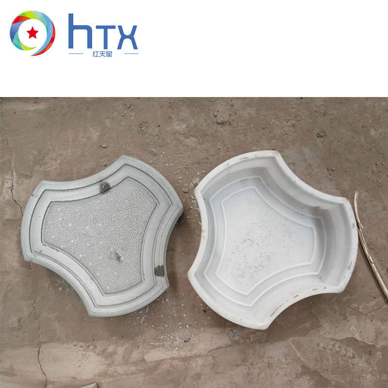 Outdoor Decorative Pattern Concrete Paving Stones Plastic Paver Injection Mould