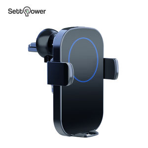 Wireless car charger charging holder QI mobile phone 10W fast wireless charger Settpower RSN12
