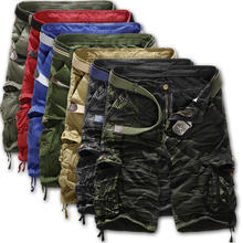Mens High Quality Multi Pockets Cargo Shorts Wholesale Cotton Short Cargo Shorts For Men Wholesale mens casual shorts cargo