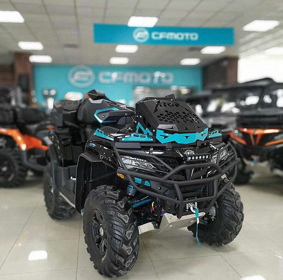 Новинка 2020 CF MOTO CFORCE 600 EPS TOURING 4x4 - 2 пассажирский квадроцикл (CF MOTO CFORCE 600 EPS TOURING 4x4)