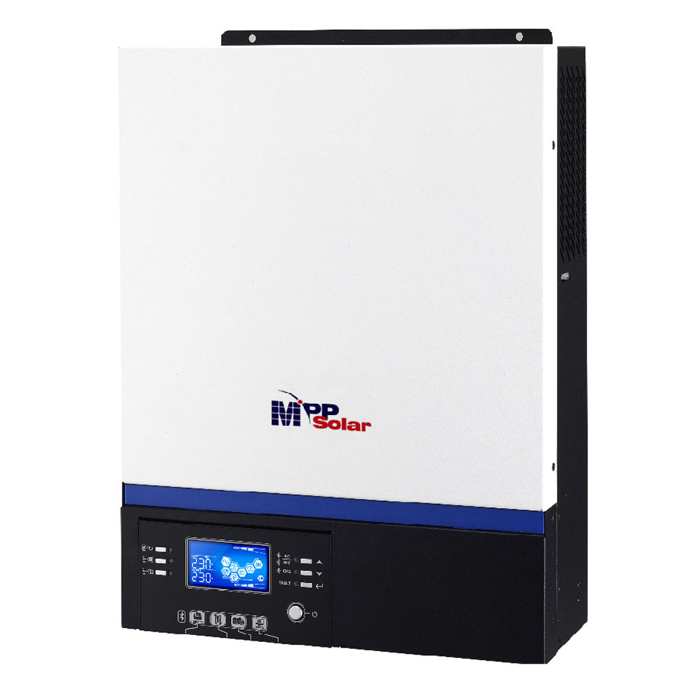 (GK) 5kva 5000w 48v 230vac solar inverter + High PV input 500vdc 80A MPPT solar charger + battery charger 60A