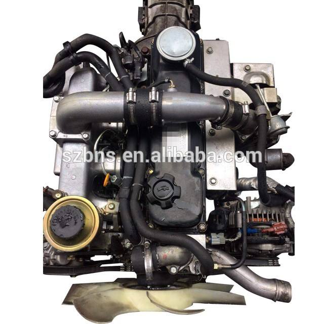 Complete Used QD32 engine with manual gearbox with turbo diesel engine