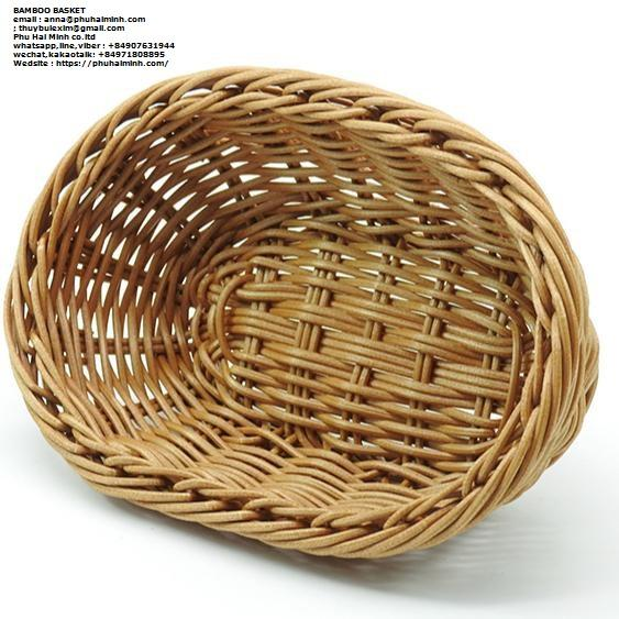 Bamboo Basket from PHU HAI MINH TRADING AND INVESTMENT COMPANY LIMITED in Viet Nam (whatsapp: +84907631944)