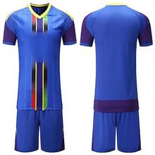 100% Polyester Moisture Cooling Performance Soccer Jersey