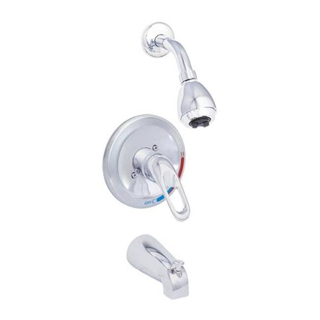 EZ-FLO 10494N Tub and Shower Sets-Compression
