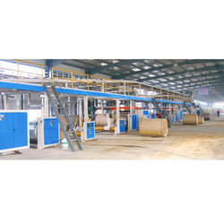 High-speed new auto 2/3/5/7 ply 1400-2500mm corrugated cardboard production line with ce
