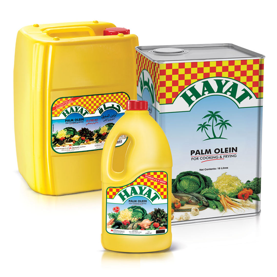 HAYAT VEGETABLE COOKING OIL