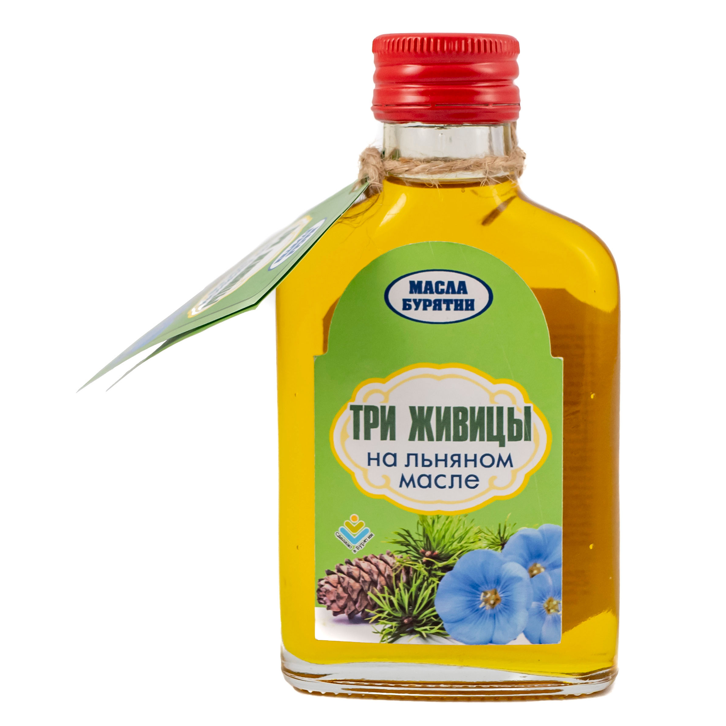 Natural Organic Three sap on linseed oil Cooking And Body Oil