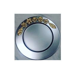 METAL DECORATIVE CHARGER PLATE