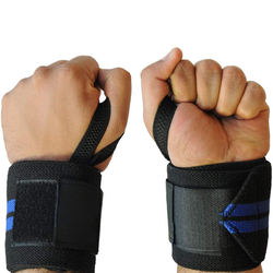 OEM Custom Genuine Fitness Lifting Straps Weightlifting Hand Wraps Straps For Gym Training