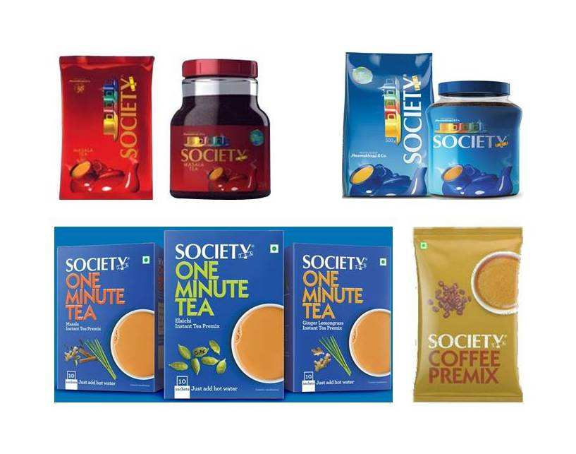 Samenleving Blad Thee Society Masala Thee Socity Instant Thee Premix Socety Instatnt Koffie Uit India