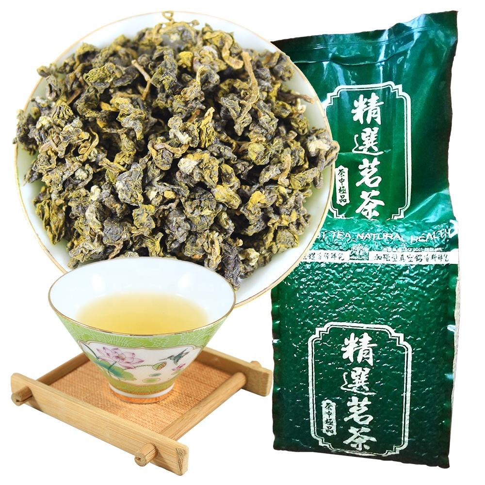 Best taiwan brands Organic-certifed High Quality Wholesale Loose Leaf Tea 100% Organic Green Tea