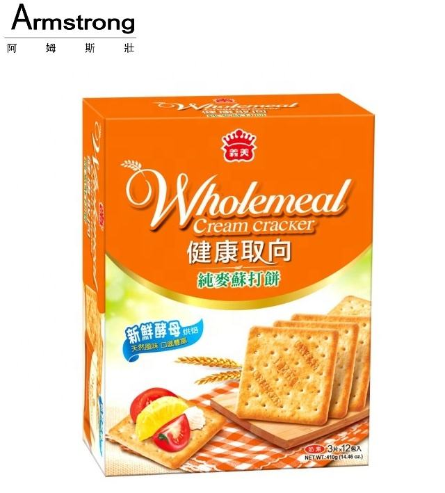 HACCP Pure Wheat Cookies Cream Saltine Cracker