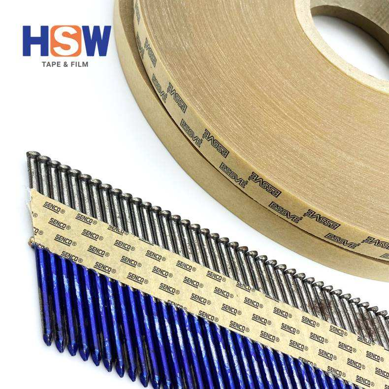Paper round head strip nails tape for construction