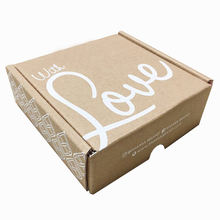 Padded Custom Packaging Paper Logo Brown Boxes Low Moq Gift Mailer Cardboard Shipping Box