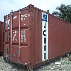 40' X 8' X 8.5'(H) USED SHIPPING CONTAINER