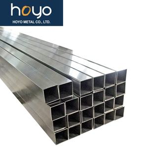 Stainless Steel Tube Hollow Square Tubing Tubo Sst