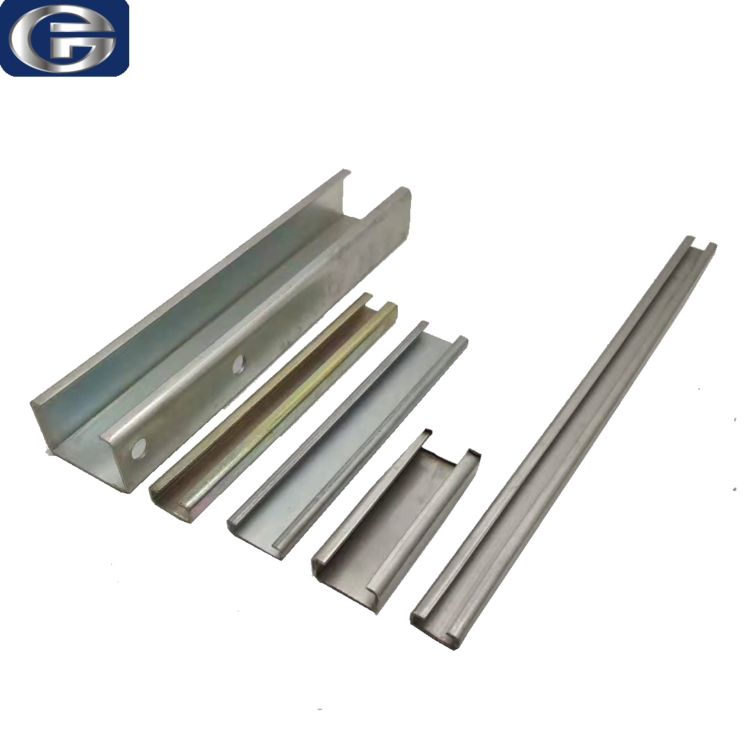 Top quality well designed c profile slotted support channel for sale