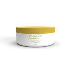 OEM Scrubs Facial Natural Lightening Honey Natural Honey Facial Scrub