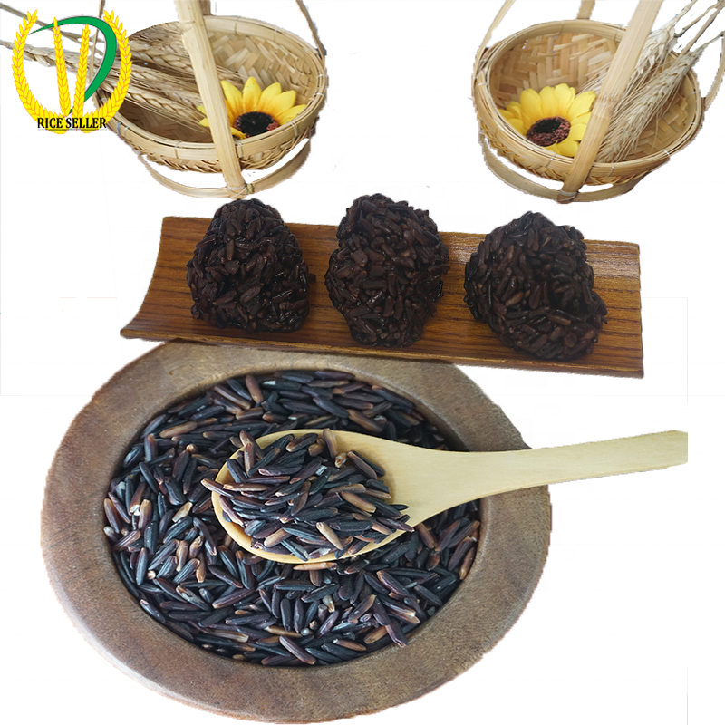 Best Seller Extra Round Glutinous Rice High Quality Grade A Best Price - Black Glutinous rice flour