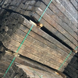 Ukraine Oak Reclaimed Railway Sleepers of Standard Dimension
