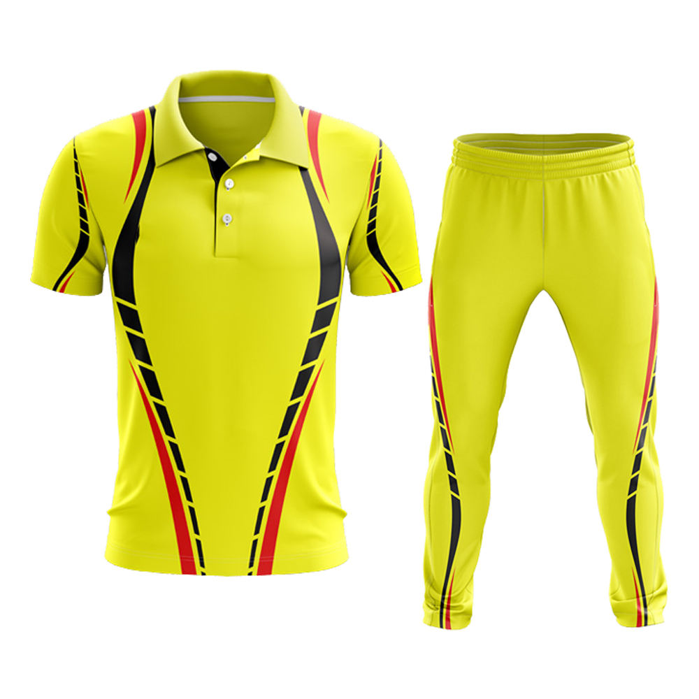Hot sale design cricket uniform