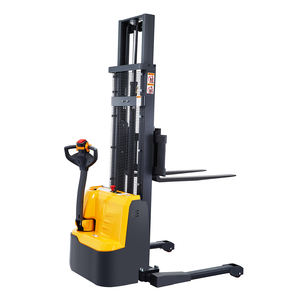 Xilin 1200KG 1.2ton 2645lbs 3m Full Electric Walkie Straddle Stacker Forklift