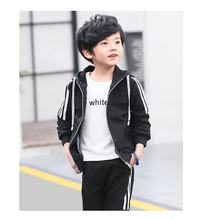 Long Sleeve Blank Sports Wear polyester Tracksuit For Child Custom made Tracksuit for Kids