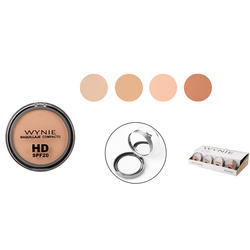 Wholesale new pressed powder compact natural makeup durable ladies cosmetics