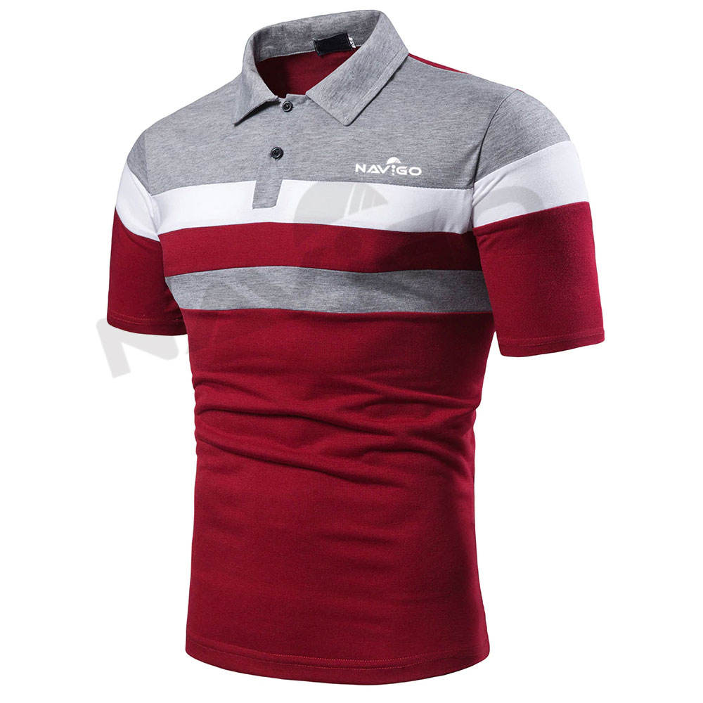 reasonable Price Custom Made Men Polo T Shirts Factory Direct Sale Men Polo T Shirts In Different Size