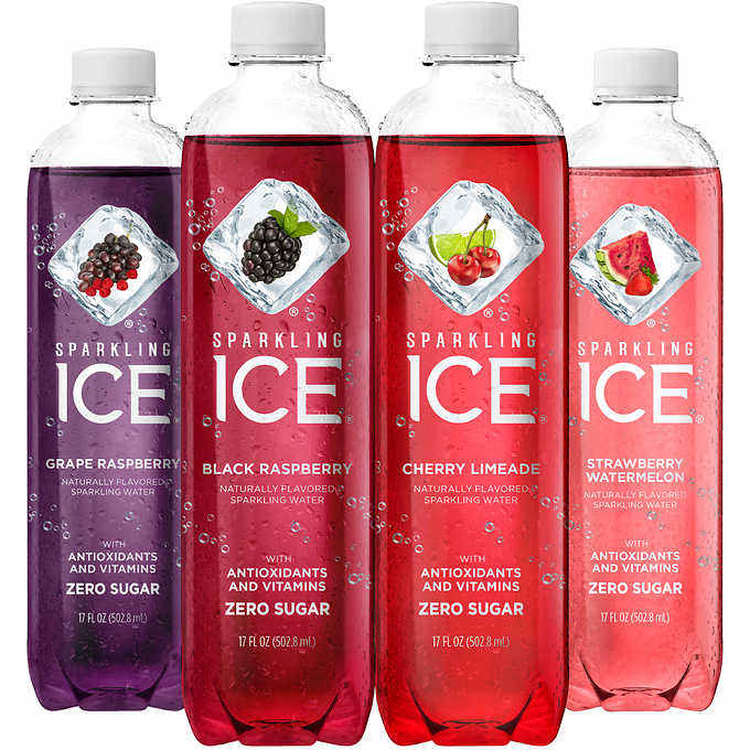 Sparkling ICE Bottle Sparkling Water USA American Flavored Bottled Water