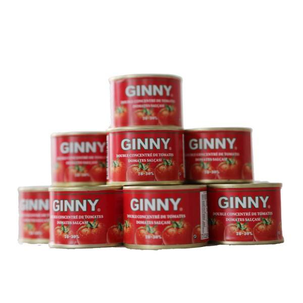 70g 210g 400g 800g 2200g Tin Packing 28-30% Pure Tomato Paste Canned Food Pasta,canned tomato paste