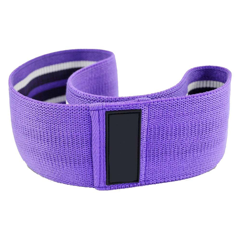 Gym sports yoga resistance hip band non-slip durable hip circle cotton band