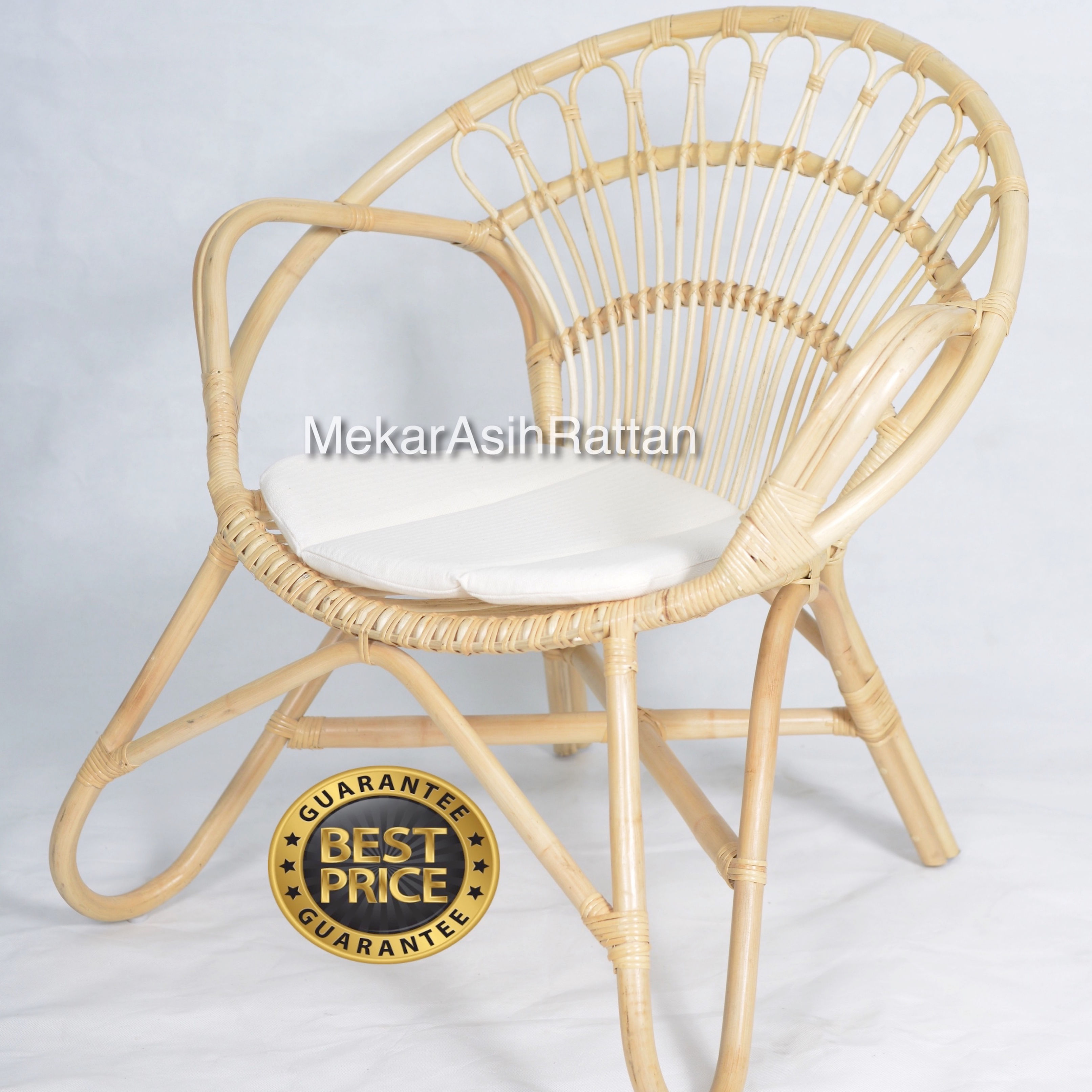 Modern Chair 2019 Style Nature Rattan Handmade Rattan Wood Leisure Chair Trendy Natural Product Wholesale Living Room Furniture