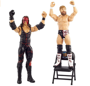 PVC flexible personal action figures WWE Wrestler 2-Pack with 6-inch Action Figures
