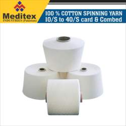 100% Cotton Spinning yarn 10/S TO 40/S Card and Combed