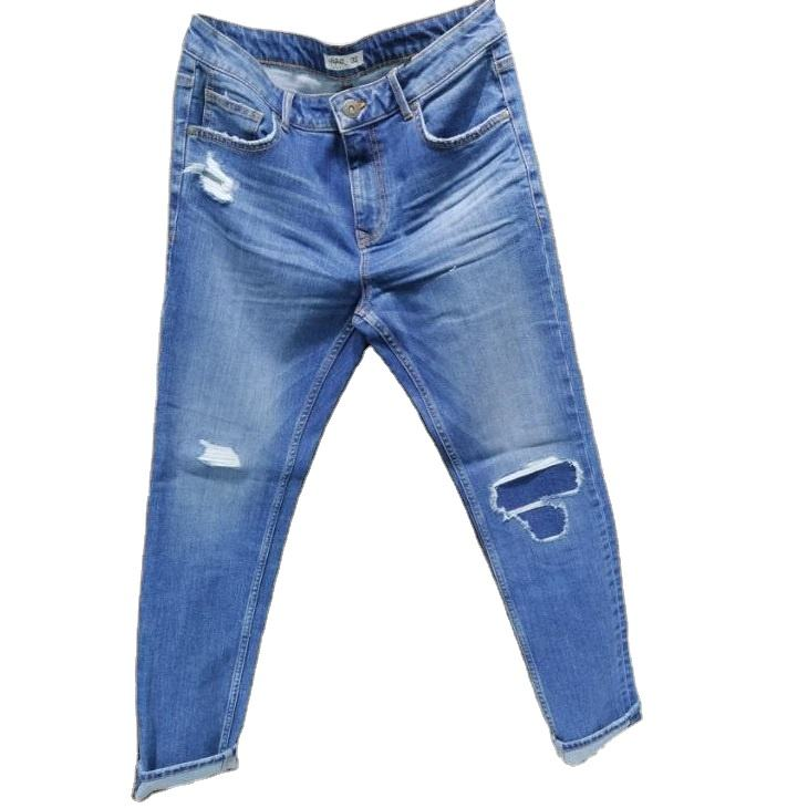 2020 new design men's denim jeans with direct factory price from Bangladesh