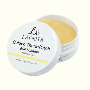[LAENiTA] Golden Thera-Patch EGF Solution Collagen eye mask Korean cosmetics patch, Anti-Aging / Anti-Wrinkle / Under eyepatch