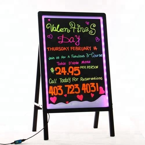 2020 electronic led advertising product outdoor lighted signs board for help shops attract business