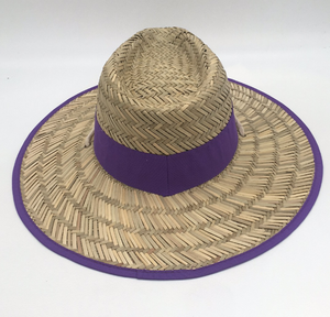 Cheap Mens Wide Brim Summer Straw Panama Hats With Logo